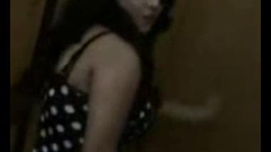 Chandigarh Girl Friend Dances Seductively For Boy Friend