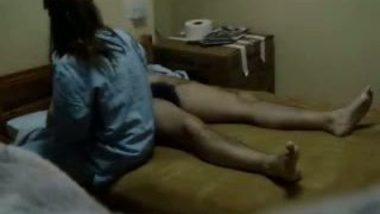 Arab guy making the staff nurse suck his dick captured on hidden cam!