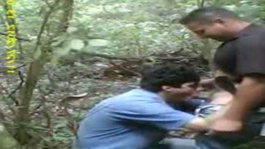 Mature Desi Gays having blowjob sex in forest