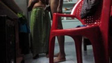 Mallu Wife Exposed Tits Again