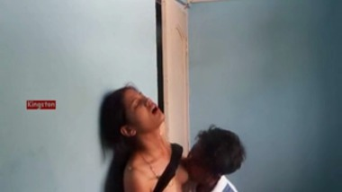 Horny Amateur Hyderabad Couple Foreplay Before Sex