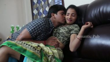 South Indian actress doing romance in masala movie