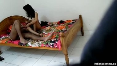 Hidden cam home sex of young Pune lovers