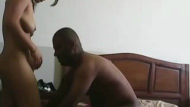 Andhra house wife strips naked before riding hubby