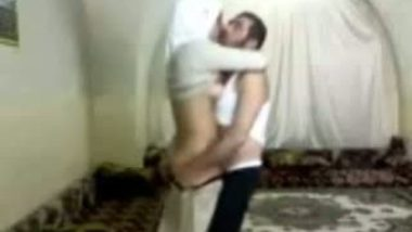 Amateur Muslim wife fucked in standing position