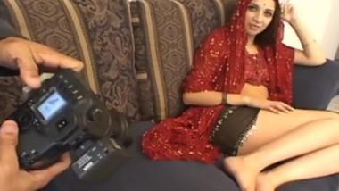 Indian Princess Enjoys Sucking Down His Cock