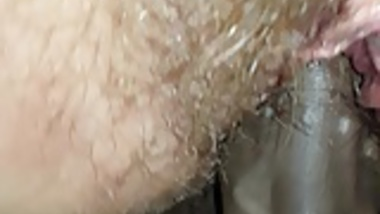 Wet hairy slut fucked to orgasm