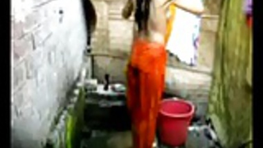 Bangla desi village girl bathing in Dhaka