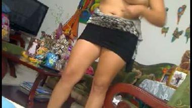 Big boobs gorgeous NRI bhabhi sex video