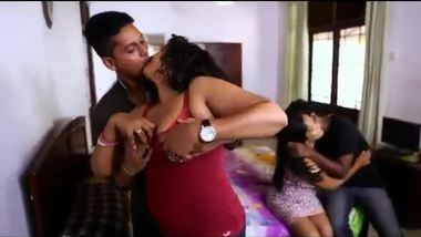 Desi group sex involving partner swapping