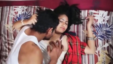 Sexy school girl Payal romances for the first time