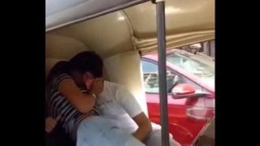 Delhi College Couple's Hot Sex In Auto