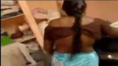 Telugu Aunty Stripping Saree For Sex With Landlord