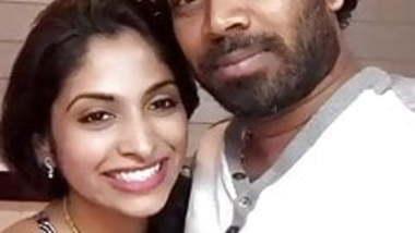 Cricketer Malinga and his girlfriend