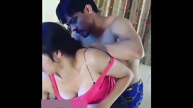 Desi Couple Romance MMS leaked !