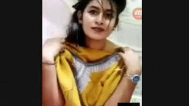 Beautiful Bengali Super Sexy Girl Showing On VideoCall With Bangla talk