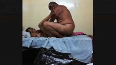 Telugu Old Couple Hot Fucking