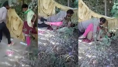 XXX MMS Indian Sex! Desi local randi outdoor fucking
