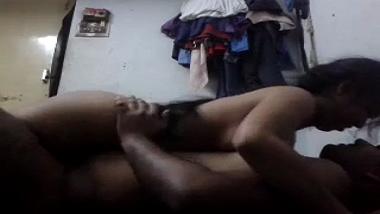 Sexy Indian bhabhi sensational home sex mms with neighbor