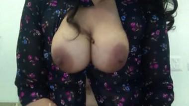 Desi big boob aunty fucking hardcore her husband