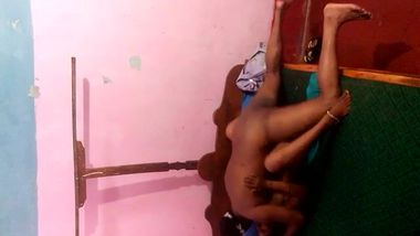 Babe has idea to film own XXX Indian video so friend has to nail her