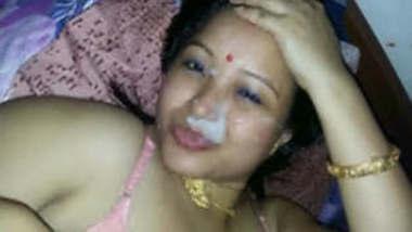 Extremely Horny Manipuri wife BJ